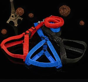 Pet Dog Puppy Collar & Leash (lsh2005)