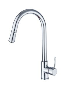 Stylish Solid Brass Pull out Kitchen Faucet