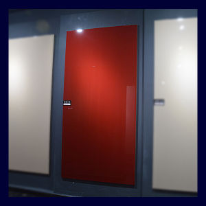 Dark Red Colour Kitchen Door Material Lct Board (LCT3001) pictures & photos