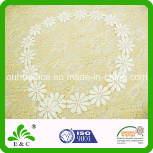 Satin Face Flower Pattern Embroidery Lace