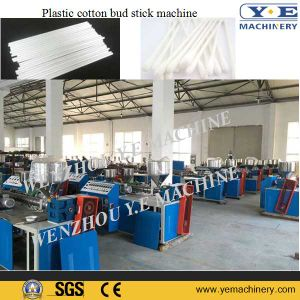Cotton Swab Bud Plastic Stick Making Machine with Stacker System pictures & photos