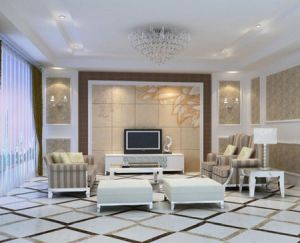Pure White Floor Tiles For Living Room Free Sample