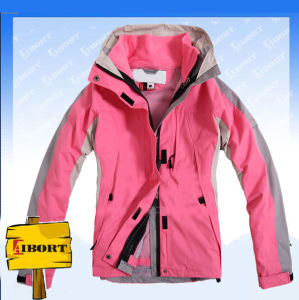 Women′s 2013 Snowboard Polyester Jacket, Women Multifunctional Outdoor Jackets