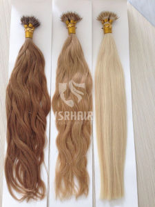 High Quality, Nano Hair, Blond Human Hair Extension