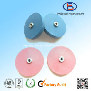 Original Supplier of Colored Rubber Coated Pot Magnet Gripper