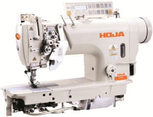 High Speed Double Needle Lockstitch Sewing Machine Hj8452