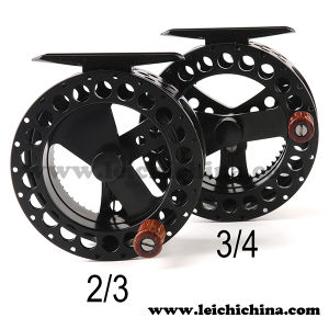 Machine Cut Aluminum Clicker Fly Fishing Reel pictures & photos
