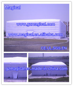 Outdoor Top Quality Durable Inflatable White Cube Tent (MIC-637) pictures & photos
