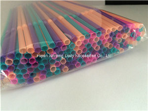 Colorful Disposable Flexible Juice Plastic Drinking Straw pictures & photos