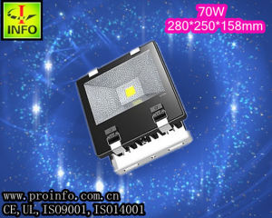 Outdoor LED Flood Light (10-200W optional ), 2 Years′ Warrant) 70W/CE, UL, Rhos, IP 65, Easy Use
