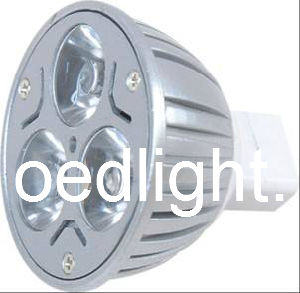 High Lumen 3W LED MR16 Spotlight for Shop Lighting (S5004303W)