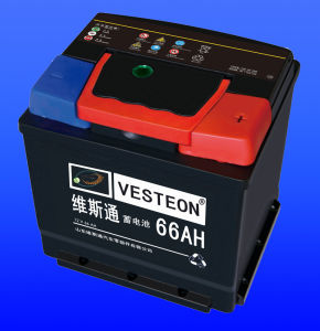 High Quality 12V Lead Acid Car Battery DIN66 pictures & photos