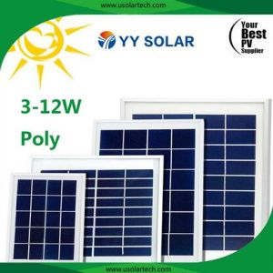 2017 New Popular Portable 3W-12W Polycrystalline Silicon Solar Photovoltaic Panel pictures & photos