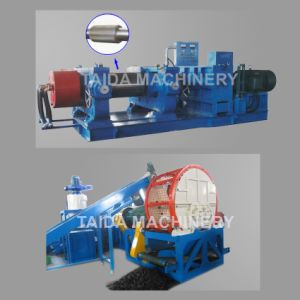 OTR Tire Recycling Rubber Tyre Cutting Cutter Machine Plant Factory Manufacturers pictures & photos