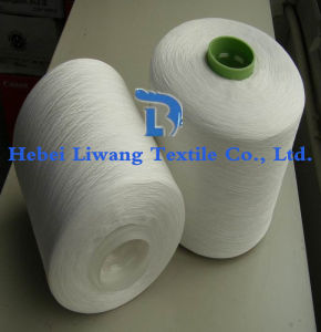 100% Polyester Spun Yarn 20s 21s 24s 27s 30s