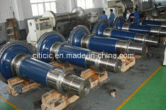 Wind Power Forging Shaft Certified by BV, SGS, ISO9001: 2008 pictures & photos