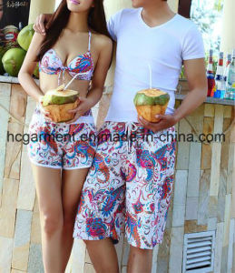 Lovers′ Clothes Couples Clothing Sweethearts Shorts, Board Shorts for Lover
