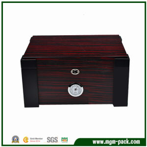 Luxury Double Color Wooden Cigar Box for Sale pictures & photos