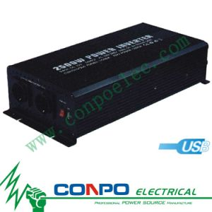 Modified Sine Wave Power Inverter 82500 2500W With USB pictures & photos