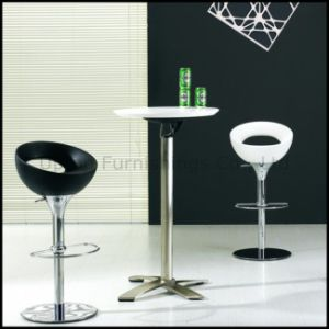 Durable White Plastic Top Folding Bar Table (SP-FT389) pictures & photos