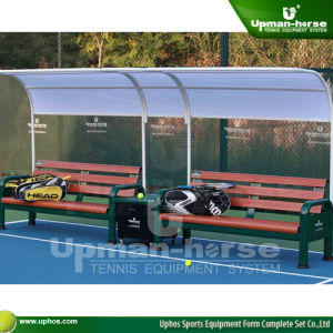 (TP-108M) Aluminum Tennis Courtside Benches pictures & photos