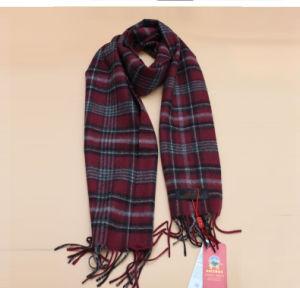 Knitted Lattice Yak Wool Scarf / Cashmere Scarf / Knitwear /Garment