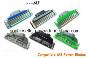 High Quality Compatible for Gillette Mach3 Power Razor Blades Cartridge