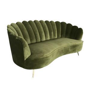 Modern Clic Luxury Green Velvet Sofa