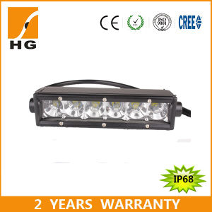 """50/"""" 250W 3D LED WORK LIGHT BAR STRAIGHT COMBO SINGLE ROW OFFROAD 4WD TRUCK"""