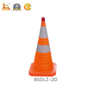 Police Equipment Safe Road Cone for Traffic with 70cm (BSDLZ-2D) pictures & photos