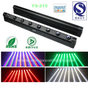 RGBW 4in1 CREE LED Rotation Bar Beam 8X10W Cool White pictures & photos