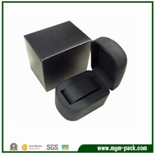 Black Luxury Plastic Watch Box for Packaging pictures & photos