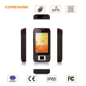 Android 6.0 Quad Core 4G Handheld Rugged Fingerprint Smartphone