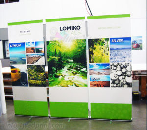 Custom Retractable Portable Economy Roll Up Promotion Display Banner Stand
