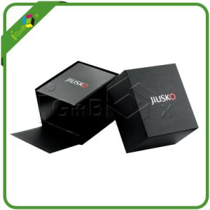 Black Small Paper Bracelet Jewelry Box with Logo pictures & photos