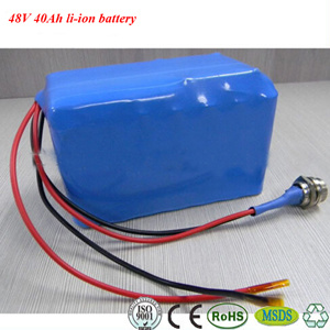 Li-ion Rechargeable Battery 48V 40ah for Electric Scooter