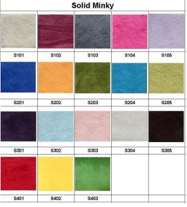 Solid Colors for Baby Minky Cloth Diapers