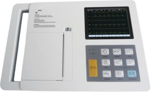 Single Channel Portable Cheap ECG/EKG Machine