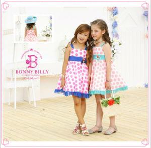 addf0fa34cef China Polka DOT Twin Girl Dresses for 7 Years Old (1227 ) - China ...