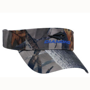 Camouflage Sun Visor Hunting Cap with Logo Embroidery (GKA12-A0006) pictures & photos