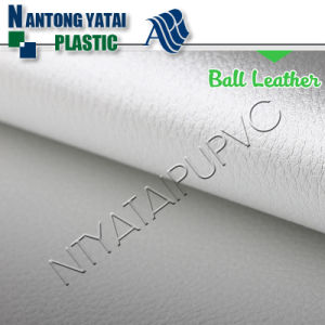 Wholesale Embossed Colorful PU Ball Leather