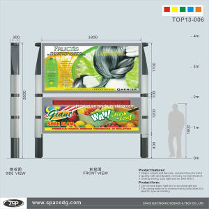 Outdoor LED Lightbox Advertisement Display pictures & photos