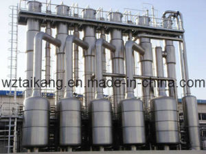 Multi- Effect Evaporator Evaporation Plant for Wastewater, Food Processing, Chemicals pictures & photos