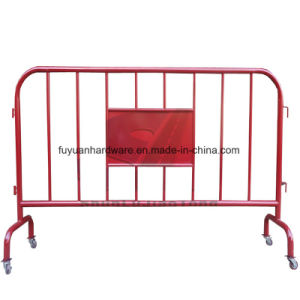 Hot DIP Galvanized Cheap Metal Control Crowd Barrier pictures & photos