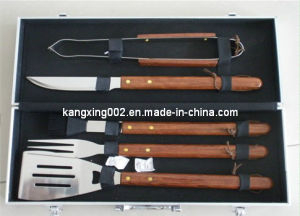 Just for You 5 PCS BBQ Tool Set (kx-9014)