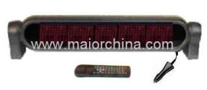 Vehicle Rear Deck Scrolling Digital Message System (MC7R50)