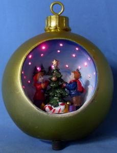 China Fiber Optic Christmas Ornament (16102A) - China ...