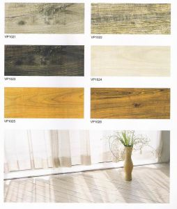 Wooden PVC Floor Tile With lock pictures & photos