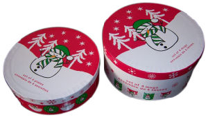 Colourful Attractive Cute Christmas Cardboard Tubes (YY-B0137) pictures & photos