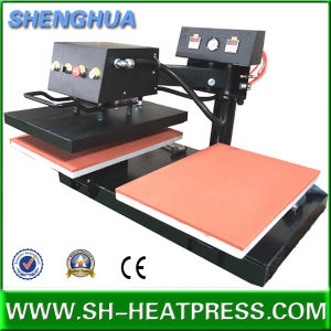 Twin Tables Pnematic Heat Rosin Press Machine for Sublimation Printing. pictures & photos